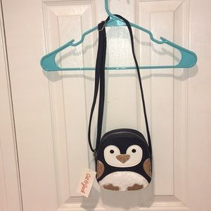 NWT Cat & Jack Penguin Bag